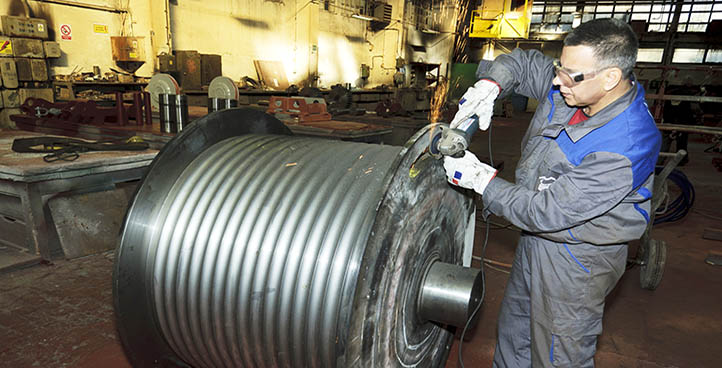 PRODUCTION OF STEEL CONSTRUCTIONS