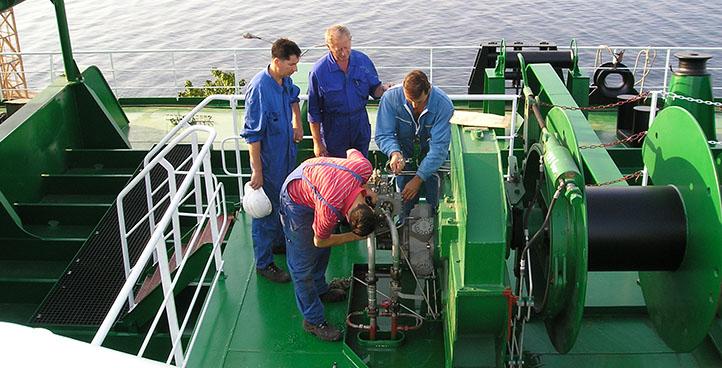 SHIP EQUIPMENT SERVICING