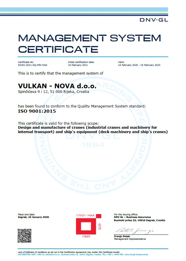 ISO9001-DNV-certificate